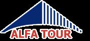 Туристическая компания Альфа Тур Логотип